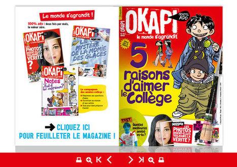 Magazine Okapi, L'abonnement magazine d'actualité du collège – Okapi | La revue de presse du CDI | Scoop.it