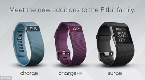 Fitbit 2015 range of Wristbands | UX-UI-Wearable-Tech for Enhanced Human | Scoop.it