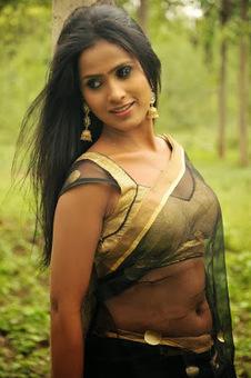 indian film actress: Anchor Prashanthi In Black Transparent Saree Photos Images Picture Gallery Stills | tollywood actress | Scoop.it