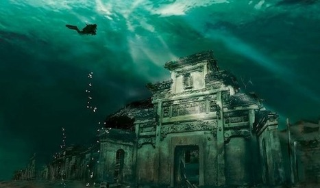 Lost City Shicheng found Underwater in China | filipante | Scoop.it