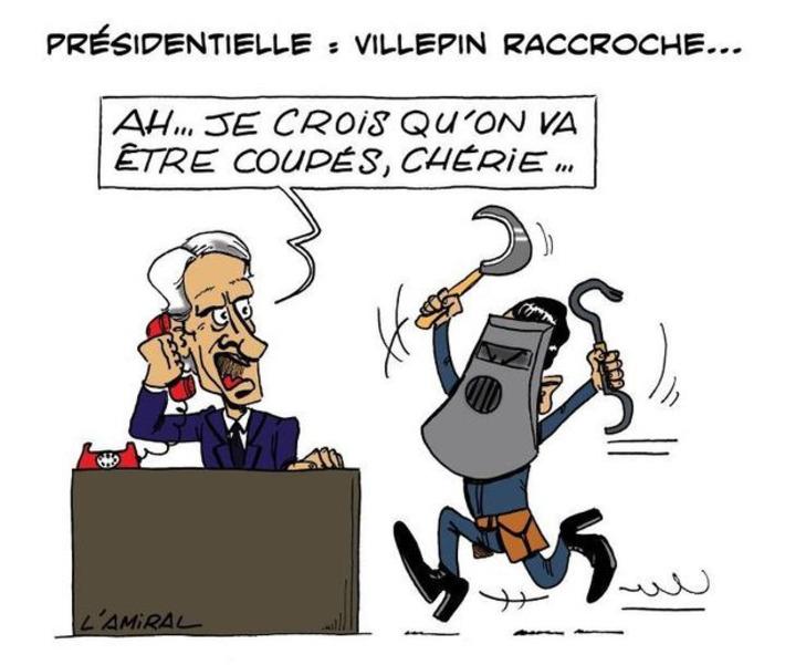 Presidentielles : Villepin raccroche | Baie d'humour | Scoop.it