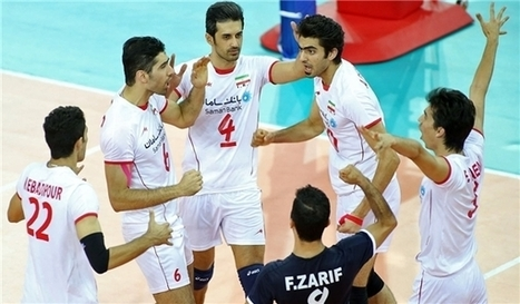 Men's Volleyball Team of Iran Squad for Rio 2016 - Iranian roster for olympics | Current Event | Scoop.it