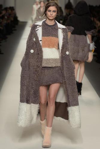 Milano Fashion Week Donna FW 2015 16 : Fendi Collezione Moda Autunno Inverno 2015 16 | Fashion blog di moda | Scoop.it