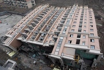 #Shangai: edificio de 13 pisos acostado en el suelo | The Architecture of the City | Scoop.it