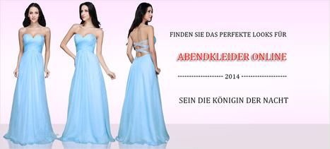 Abendkleider, Cocktailkleider Günstig & Abiballkleider Online | 1kleidershop | Scoop.it