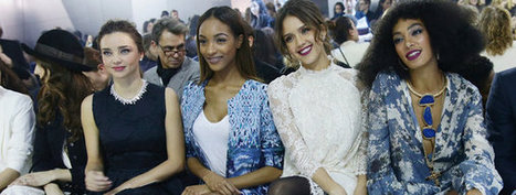 Las celebrities no se pierden el desfile de H&M en París   H&M   Scoop.it