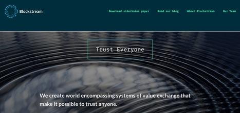 Blockstream levanta US $ 21 milhões a partir de Presidente do Google, LinkedIn e Yahoo co-fundadores | Binóculo CULTURAL | Monitore de Informação Pará empreendedorismo cultural e Criativo | | Scoop.it