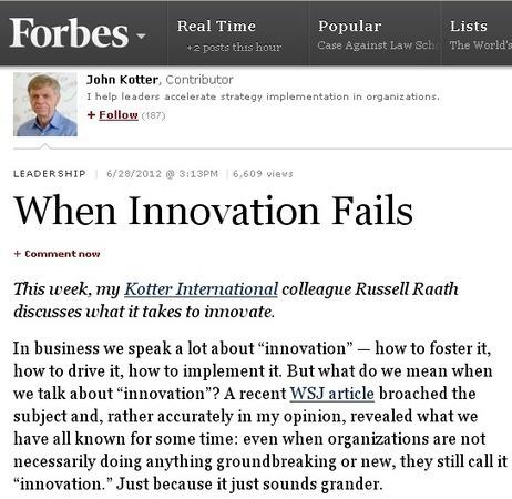 Le rôle du chaos dans l'innovation | nouveaux continents | Scoop.it