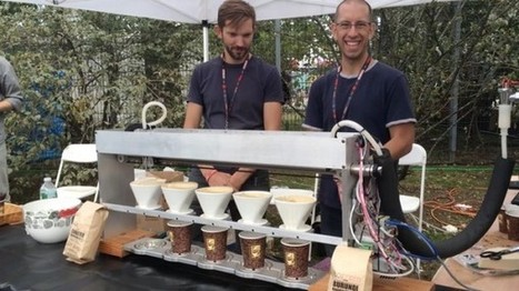 Poursteady Uses Robotics Technology for a Commercial Pourover Bar | Coffee News | Scoop.it