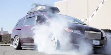 Watch This 1,029-HP Honda Odyssey Minivan Roast Its Tires | Heron | Scoop.it