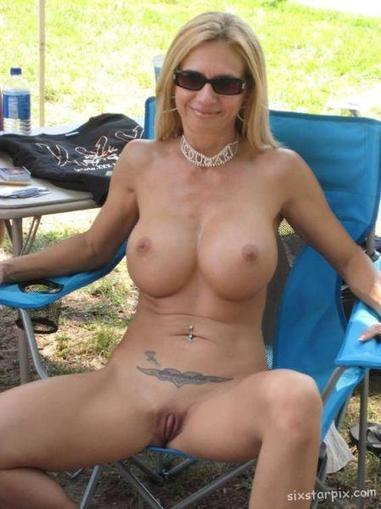 Mature nude milfs camping