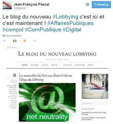 Un nouveau blog à suivre pour une pratique responsable du lobbying | Mon moleskine | Scoop.it