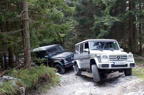 Relic or thrill ride? Up a mountain in a Mercedes-Benz G-Class | Heron | Scoop.it