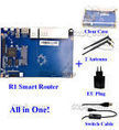 Banana pi BPI R1 Wireless Smart Router+ Acrylic Case +2pcs 5db Antenna+EU Power | Raspberry Pi | Scoop.it