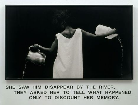 Lorna Simpson, l'Amérique en noir et blanc | art move | Scoop.it