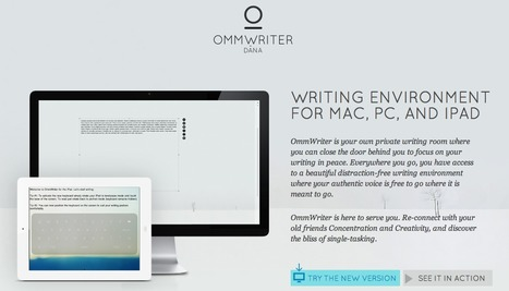 Ommwriter - Making Writing a Pleasure Again | HYNO World | Scoop.it