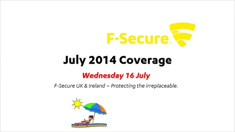 July Coverage (16th) | F-Secure Coverage (UK) | Scoop.it