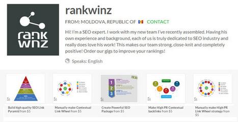 Rankwinz's quality SEO services on Fiverr   Poetry   Scoop.it