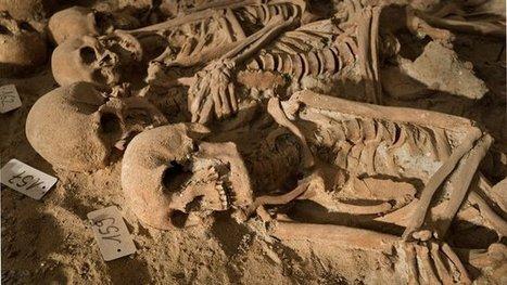 Les squelettes du Moyen-Âge découverts à Réaumur s'exposent à ... - Francetv info | Monde médiéval | Scoop.it