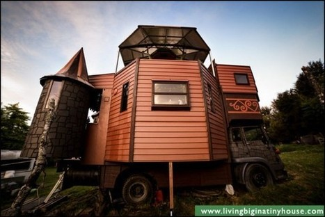 This Transforming Castle Truck Is the Most Amazing Mobile Home Ever | Strange days indeed... | Scoop.it