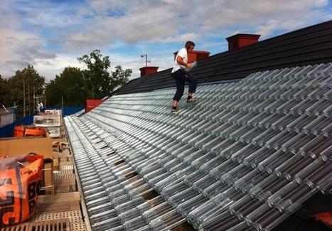 Las tejas que convierten el techo de tu casa en un gran panel solar | Bio construcción y eco-energías | Scoop.it