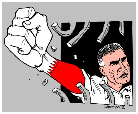 Nabeel Rajab is too powerful to be contained in ANY cage! | Human Rights and the Will to be free | Scoop.it