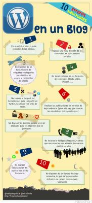 10 errores habituales en un Blog #infografia #infographic#socialmedia | IKT-TIC | Scoop.it
