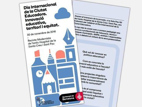 30/11: Dia Internacional de la Ciutat Educadora. Ajuntament de Barcelona | Agenda i novetats. CRP Sarrià-Sant Gervasi | Scoop.it
