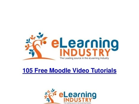 105 free moodle video tutorials | Moodle 2.0 plus | Moodling | Scoop.it