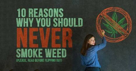 10 Reasons Why You Should NEVER Smoke Weed! (Please, Read Before Flipping Out)   Simple Capacity + Guest Posts   Scoop.it