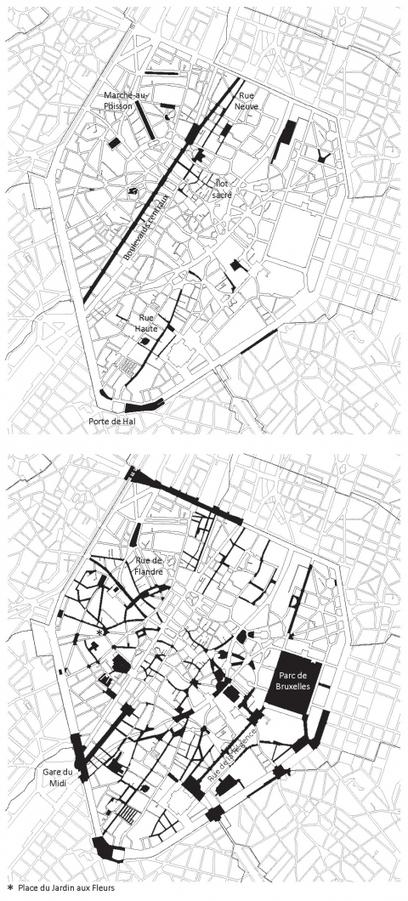 Embellissement sous surveillance: une géographie des politiques de réaménagement des espaces publics au centre de Bruxelles   Education en Belgique   Scoop.it