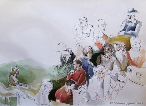 A Minha Pintura, Desenho e Gravura...My paintings, drawings and prints: My Creative Process / O meu Processo Criativo | Desenho | Scoop.it