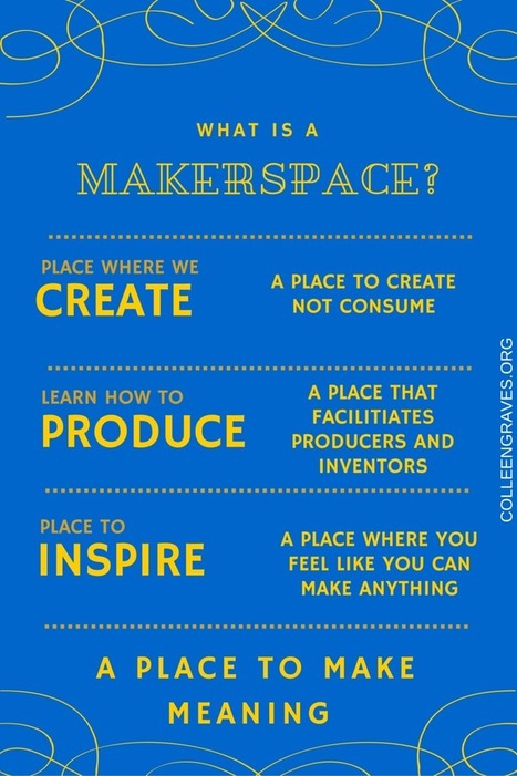A school library makerspace with Colleen Graves | Technology in Art And Education | Scoop.it
