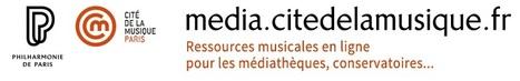 Offre Média de la Cité de la musique   -thécaires   Espace musique & cinéma   Scoop.it