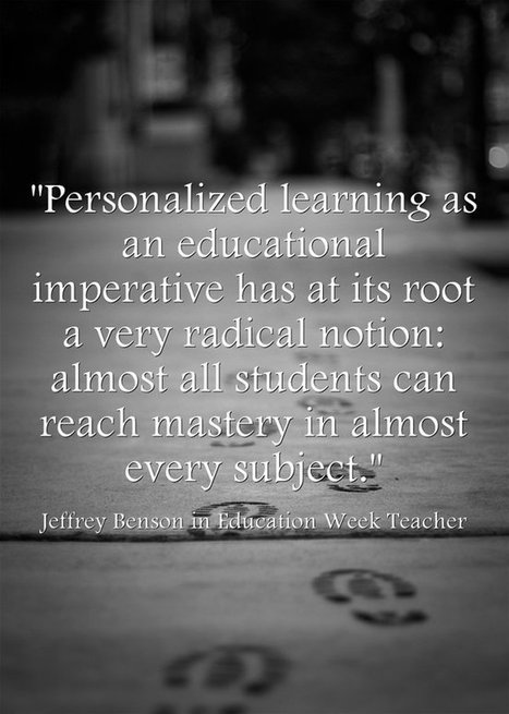 Personalized Learning Is 'Based On Relationships, Not Algorithms' By @Larryferlazzo @jeffreybenson61 @lawrenceschool | Students with dyslexia & ADHD in independent and public schools | Scoop.it