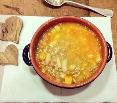 ZUPPA DI FARRO E FAGIOLI (TOSCANA) | Alimentazione e cucina veg, ricette e consigli pratici | Scoop.it