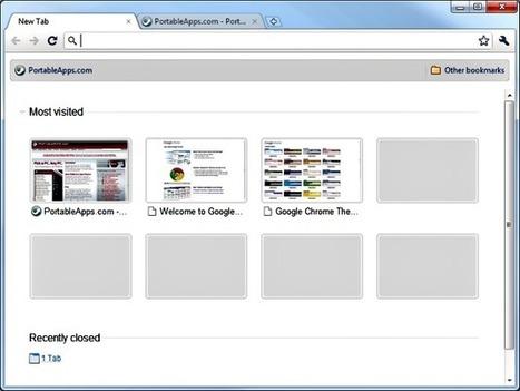 Google Chrome Portable, llévate tu navegador favorito a todas partes   Recull diari   Scoop.it