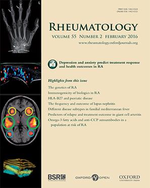 Rheumatology Journal | The British Society for Rheumatology | Rheumatology-Rhumatologie | Scoop.it