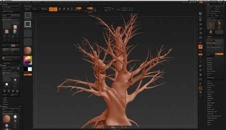 Grow a virtual forest with this amazing vegetation generator | 3D | Creative Bloq | Edtech PK-12 | Scoop.it