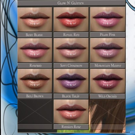 Lipsticks Pack Group Gift by Ishara Shop | Teleport Hub - Second Life Freebies | Second Life Freebies | Scoop.it