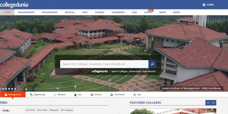 Pebble In The Still Waters: Collegedunia: Get Appropriate Knowledge and Timely Information For Finding Colleges and Institutes | Project Management and Quality Assurance | Scoop.it