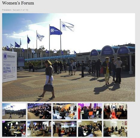Galerie de photos par le Collectif Essenci'Elles | Women's Forum for the Economy and Society | Scoop.it