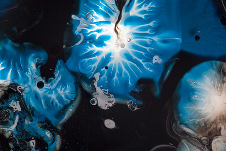 Liquid Landscapes Inspired By Abstract Expressionism   The Creators Project   morphogenesis and emergence   Scoop.it