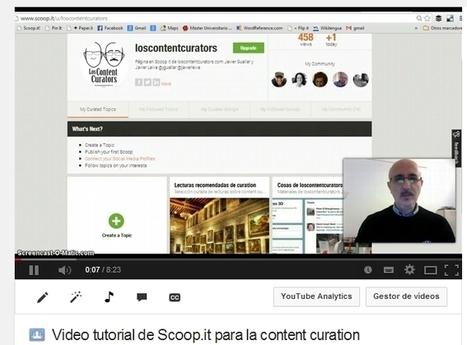 Tutoriales de Scoop.it y Pinterest para la content curation   Los Content Curators   José Antonio   Scoop.it