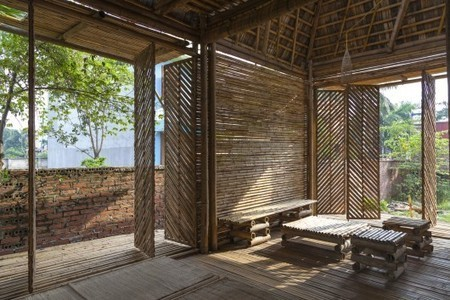 Low-cost Blooming Bamboo home built to withstand floods - Gizmag | New age bamboo solutions | Scoop.it