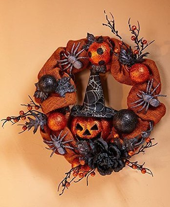 5 Unique Halloween Door Wreaths | Moms | Scoop.it