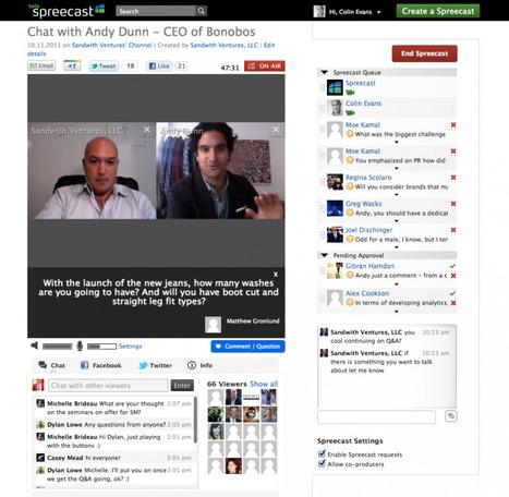 Crea Mini-Videoconferenze Sociali con Spreecast | Fare Videoconferenze | Scoop.it