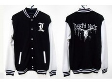 Jual Jaket Varsity Death Note | Cosplay | Scoop.it