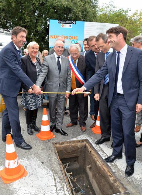 Très Haut Débit : Les Alpes-Maritimes, 1er département connecté de la région PACA | ALTITUDE INFRASTRUCTURE | Scoop.it