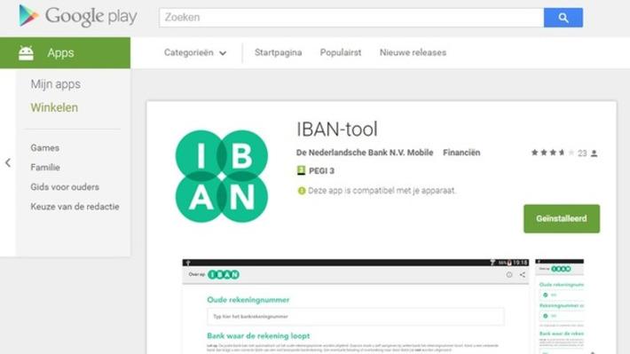 Edu-Curator: IBAN-tool: Officiële smartphone app voor omnummeren IBAN | Educatief Internet - Gespot op 't Web | Scoop.it